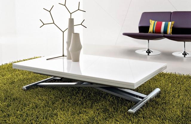 Table basse relevable d'exterieur