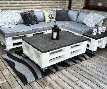 Table basse pour jardin design - lille-menage.fr maison
