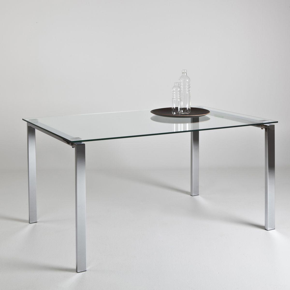 Table basse verre trempé joan (lot de 2)