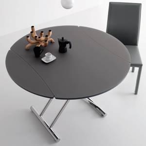 table basse ronde reglable en hauteur lille maison. Black Bedroom Furniture Sets. Home Design Ideas