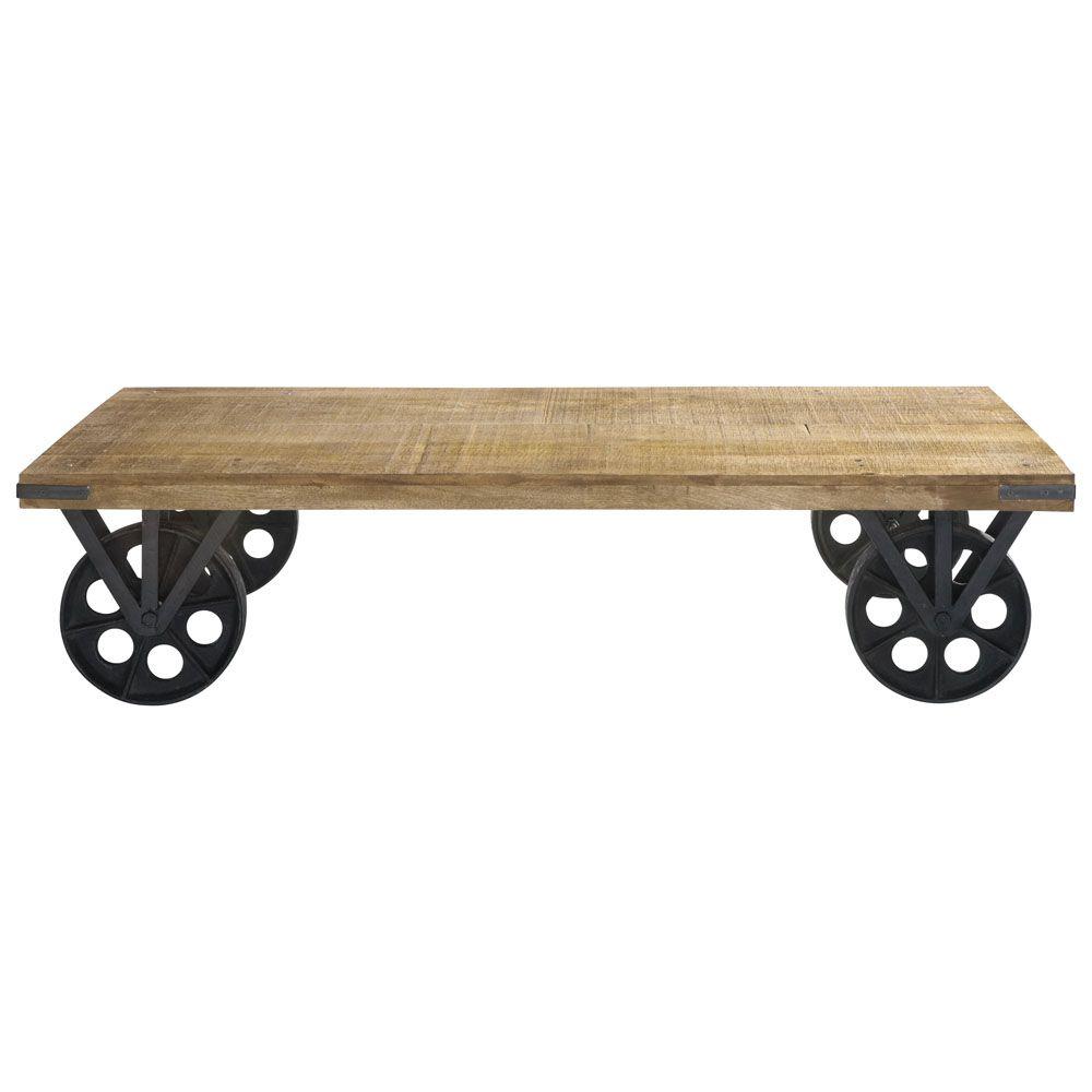 table basse industrielle maison du monde lille. Black Bedroom Furniture Sets. Home Design Ideas