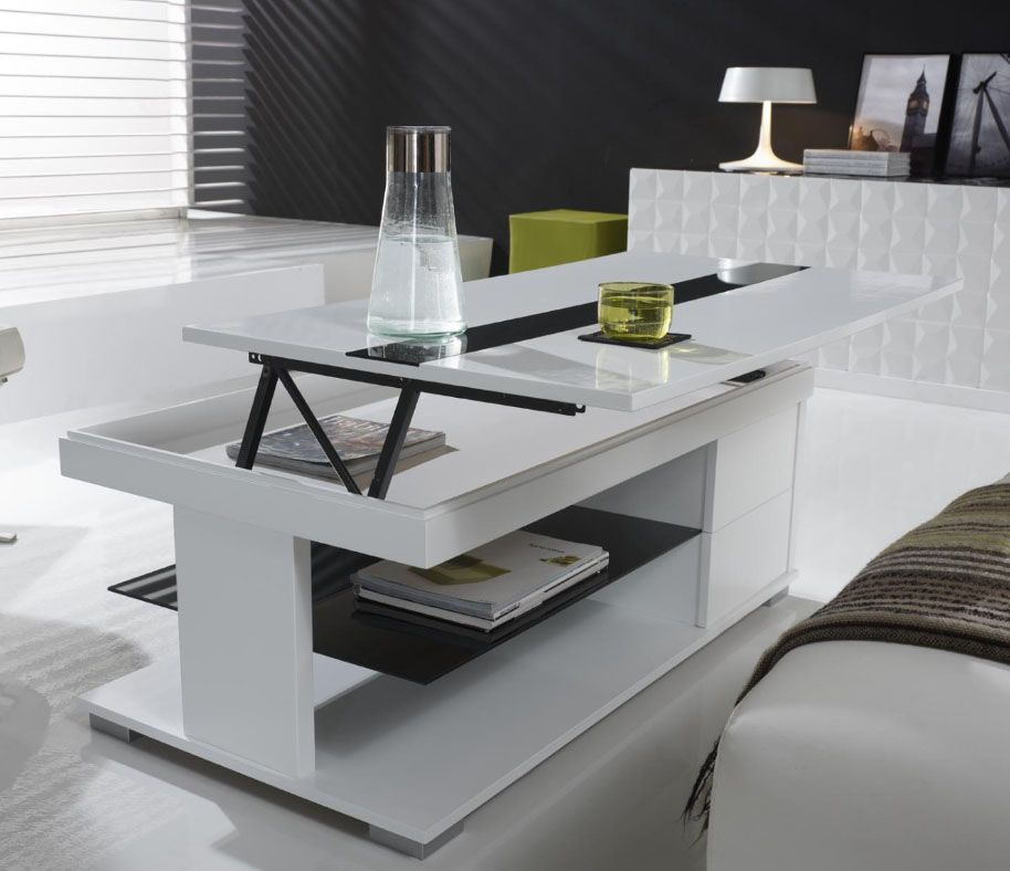 Table basse relevable tuto