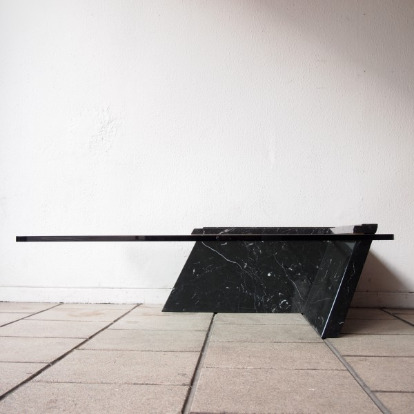 Table basse marbre et verre - lille-menage.fr maison 84397785b442