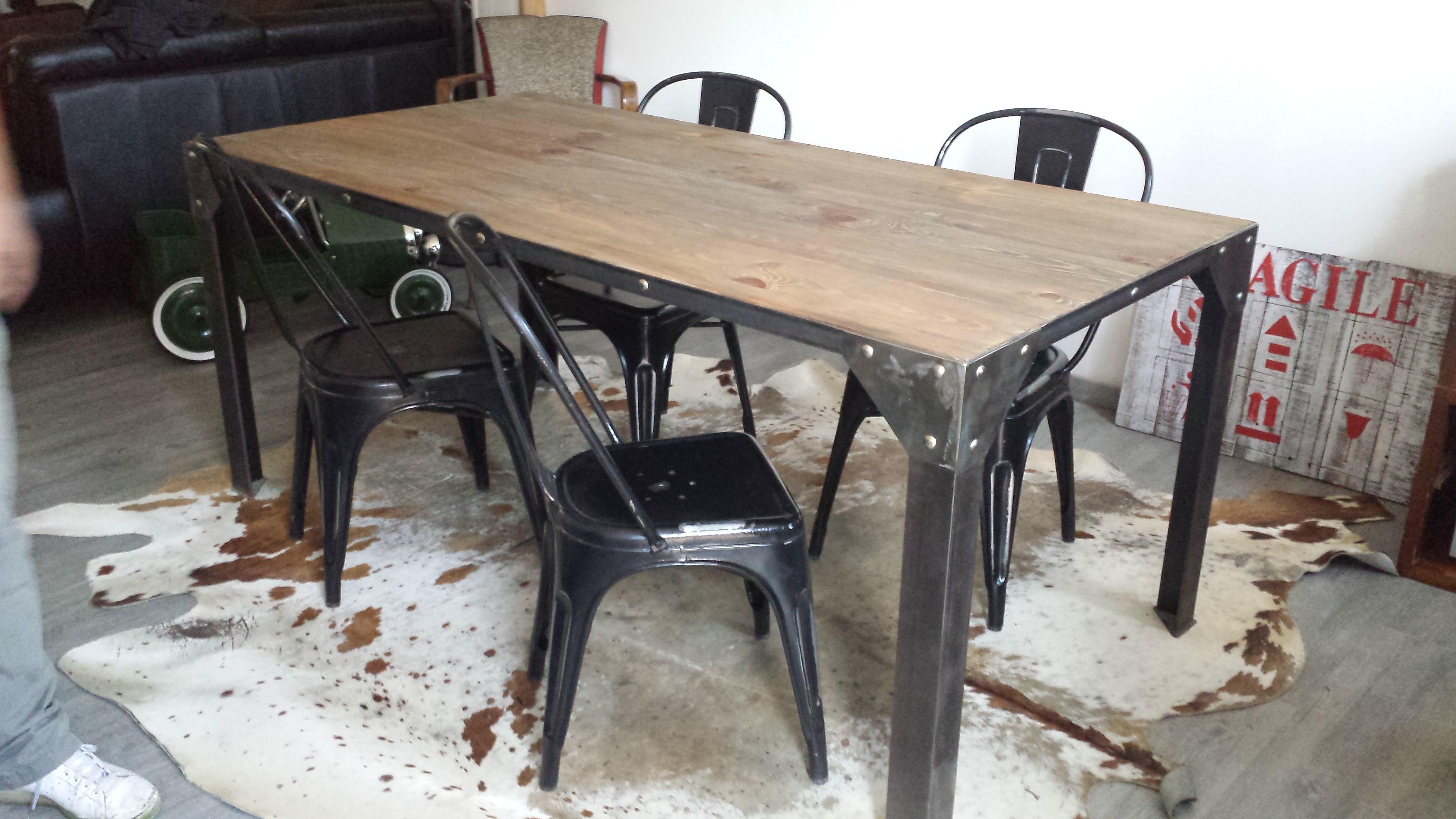 Table Basse Style Industriel Ebay Lille Menage Fr Maison
