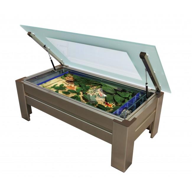 table basse aquarium lille maison. Black Bedroom Furniture Sets. Home Design Ideas