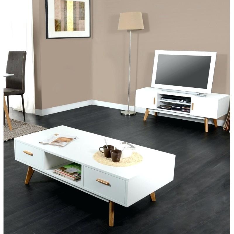 ensemble table basse et meuble tv scandinave lille. Black Bedroom Furniture Sets. Home Design Ideas
