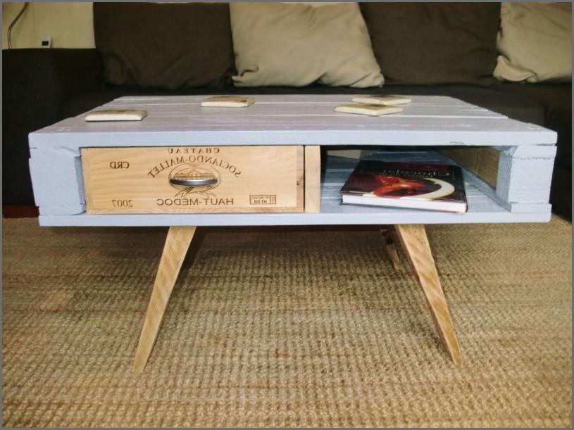table basse palette caisse de vin lille maison. Black Bedroom Furniture Sets. Home Design Ideas