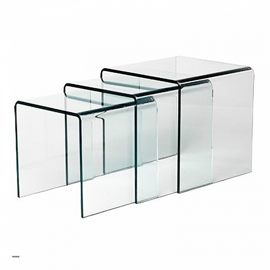 Table Basse Ronde Verre Fly Lille Menage Fr Maison