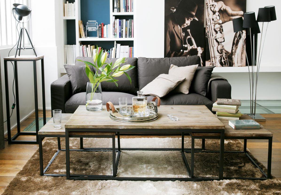 table basse maison du monde long island lille. Black Bedroom Furniture Sets. Home Design Ideas