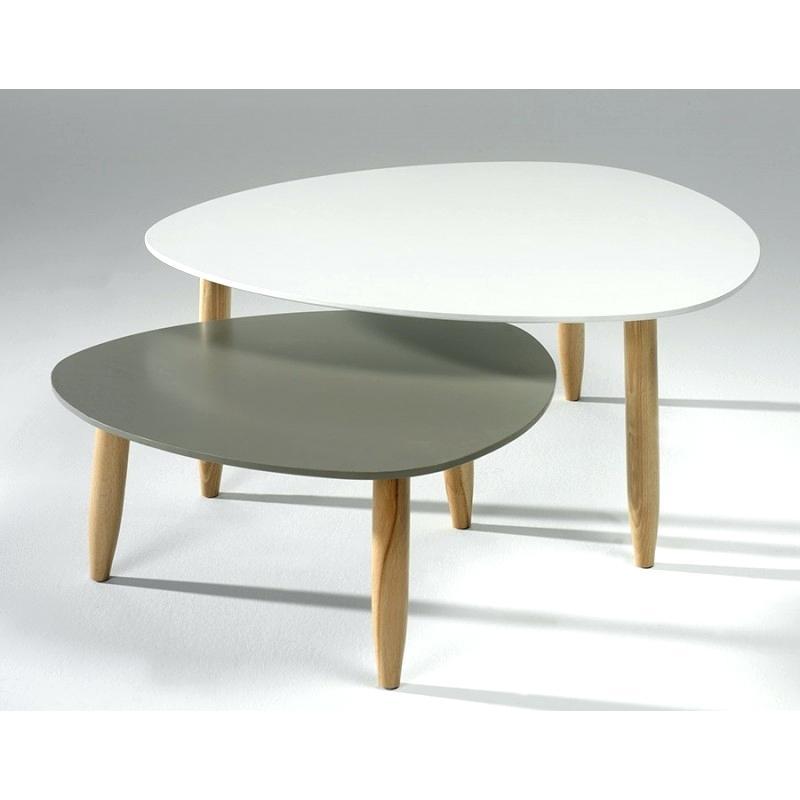 Petite Table Basse Gigogne Design Lille Menagefr Maison