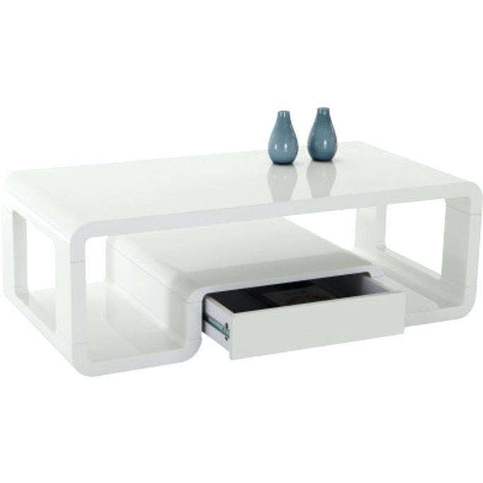 Table basse ikea lack blanche