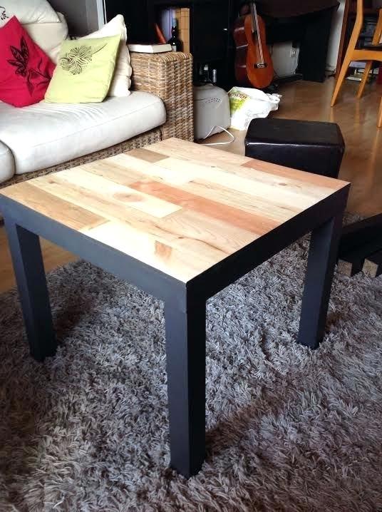 Idee customiser table basse ikea lille maison - Customiser une table basse en bois ...