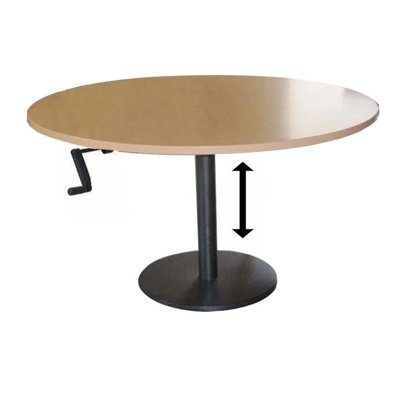 table basse ronde rglable en hauteur - Table Basse Hauteur Reglable