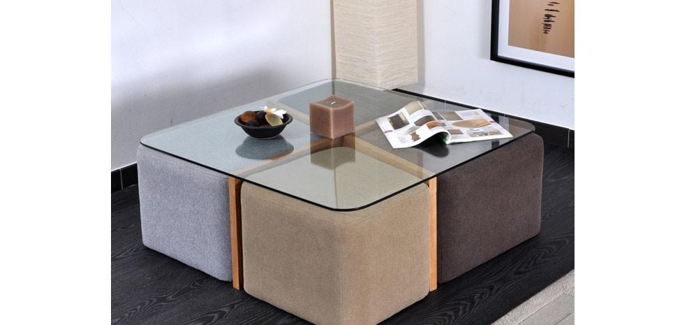 table basse avec pouf chez but lille maison. Black Bedroom Furniture Sets. Home Design Ideas