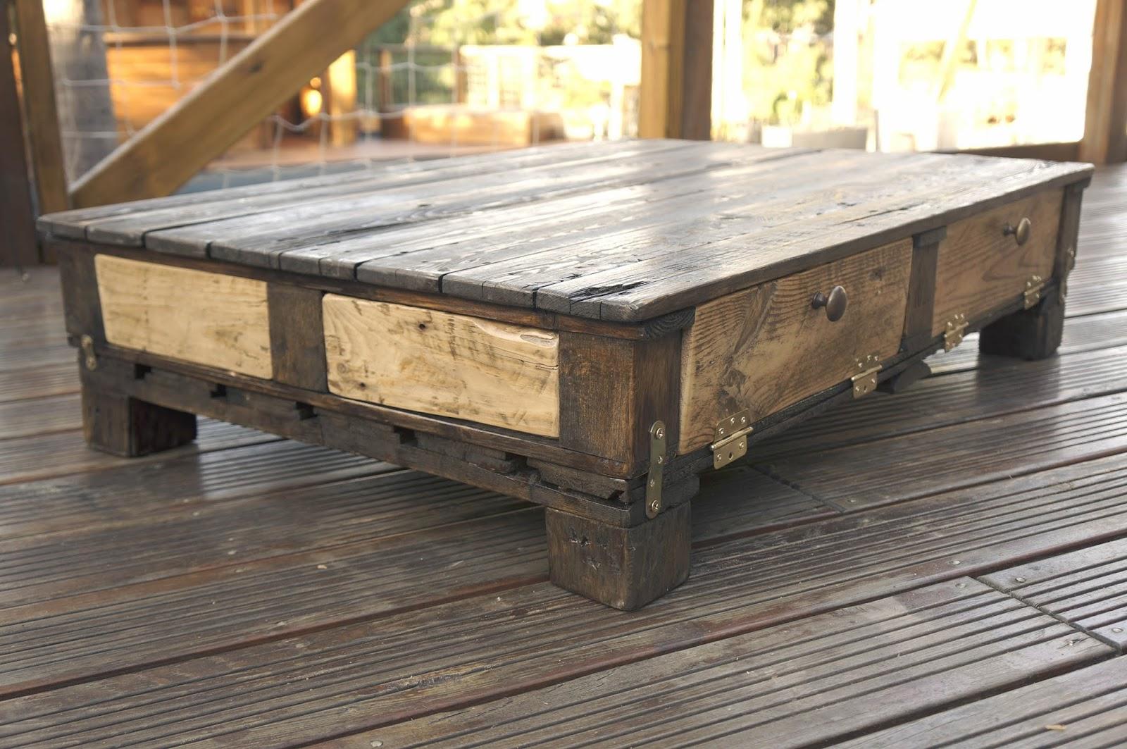 De Haute Qualite Table Basse Bois Palettes