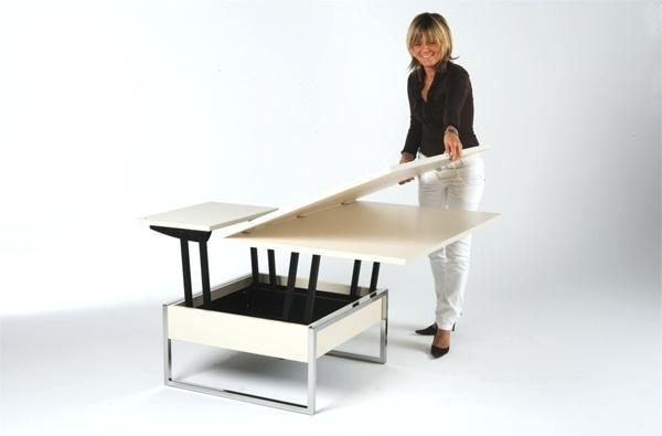 Table basse relevable hauteur