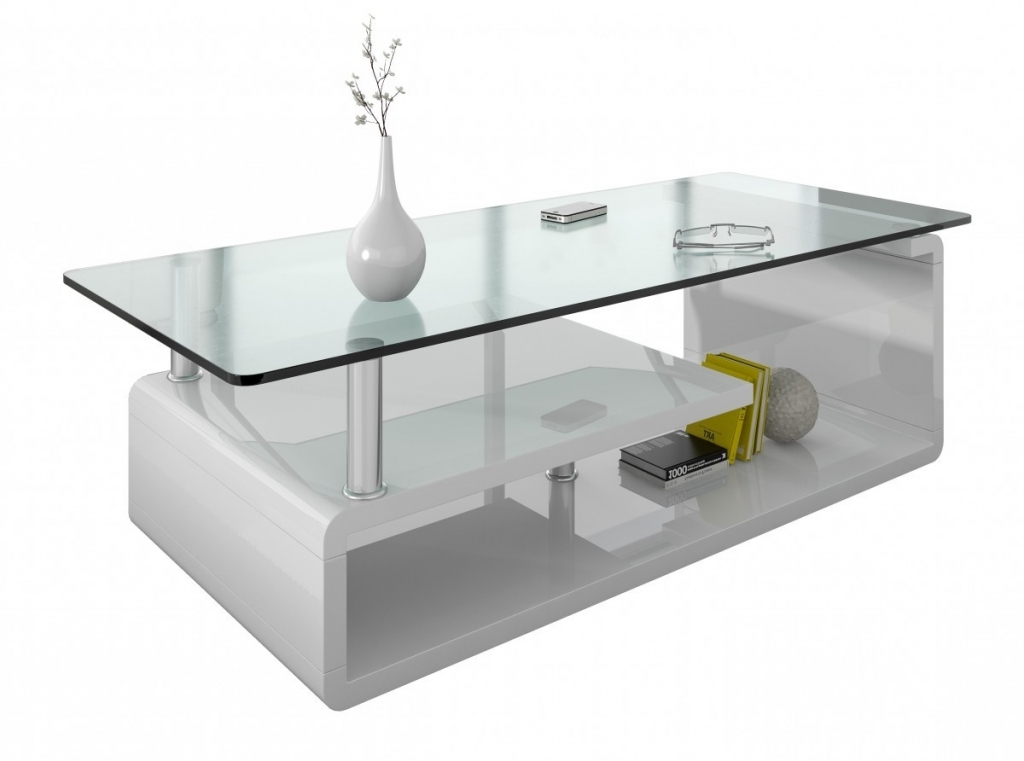 Table basse en verre pour salon