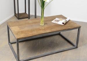 Table Basse Design Industriel Pas Cher Lille Menagefr Maison