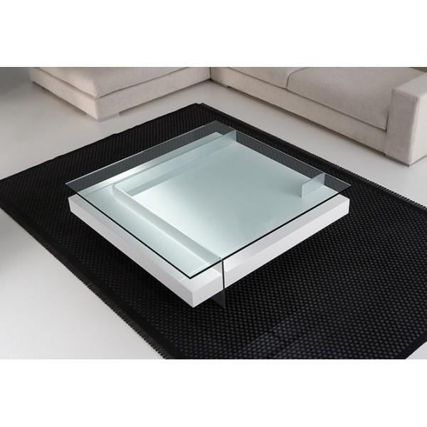 Table basse en verre design haut de gamme