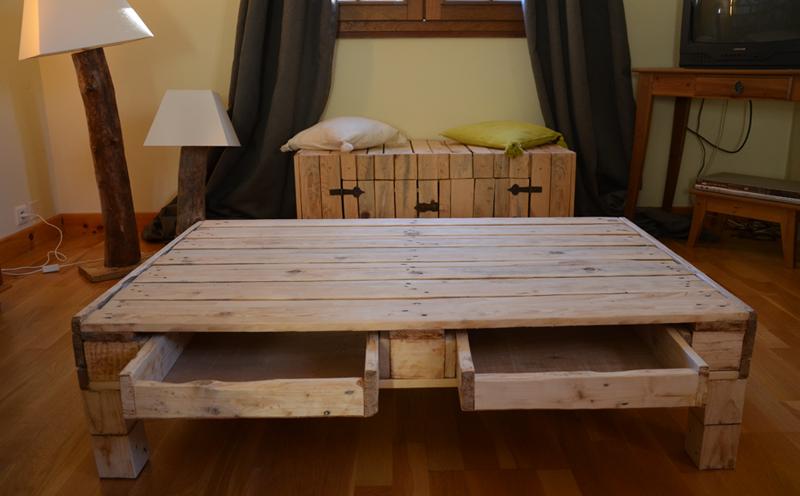 Tuto Table Basse Avec Palette Lille Menage Fr Maison