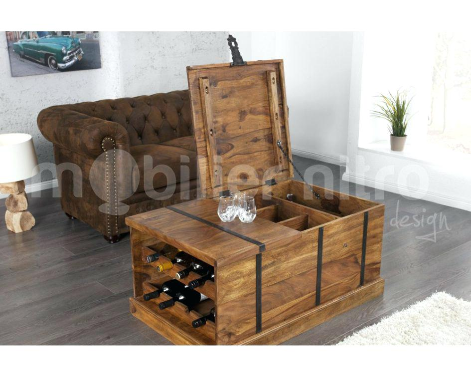 table basse ronde avec rangement bouteille lille menage. Black Bedroom Furniture Sets. Home Design Ideas