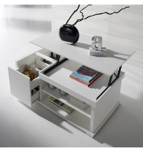 Table Basse Salon Avec Rangement Bouteilles Lille Menagefr Maison