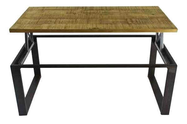 Table basse relevable style industriel