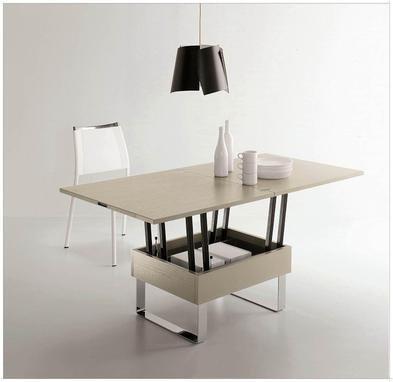 Table basse relevable extensible ikea lille maison - Table basse extensible relevable ikea ...
