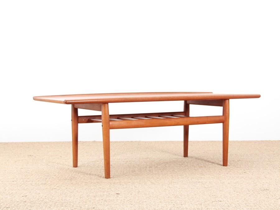 table basse retro scandinave lille maison. Black Bedroom Furniture Sets. Home Design Ideas