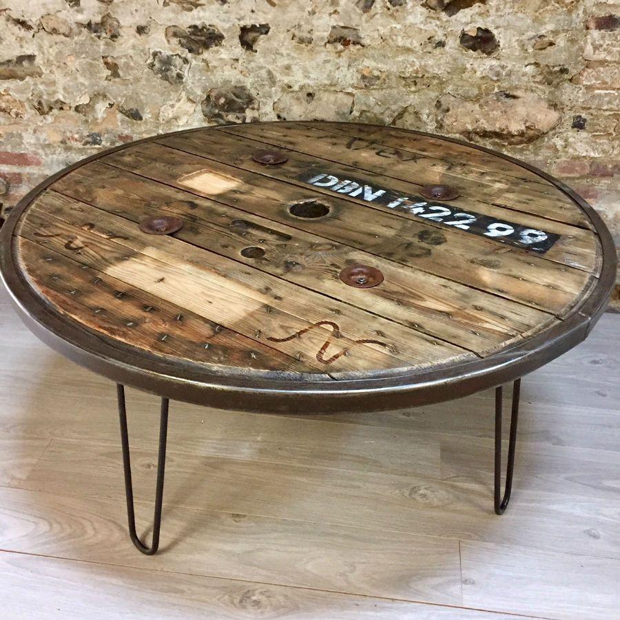 table basse touret lille maison. Black Bedroom Furniture Sets. Home Design Ideas