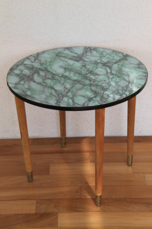 Table Basse Vintage Marbre