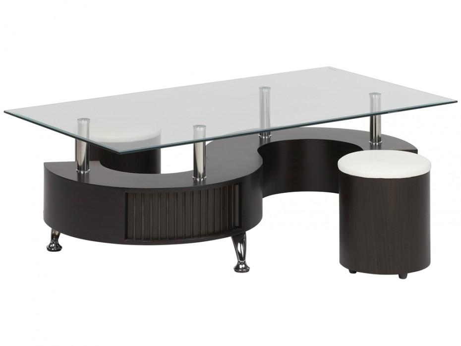 Table Basse Avec Pouf Osier Lille Menagefr Maison
