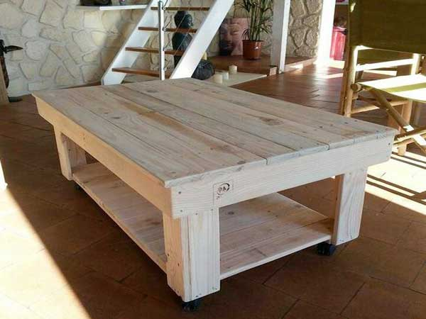 Faire une table basse avec une palette video - lille-menage.fr maison