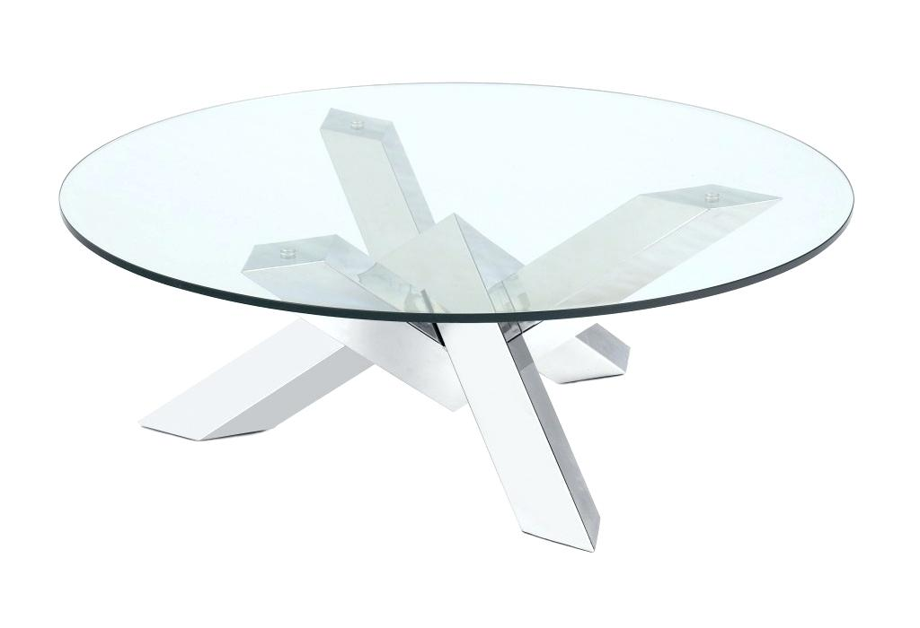 f6934ce541dd16 Table basse ronde verre modulable - lille-menage.fr maison