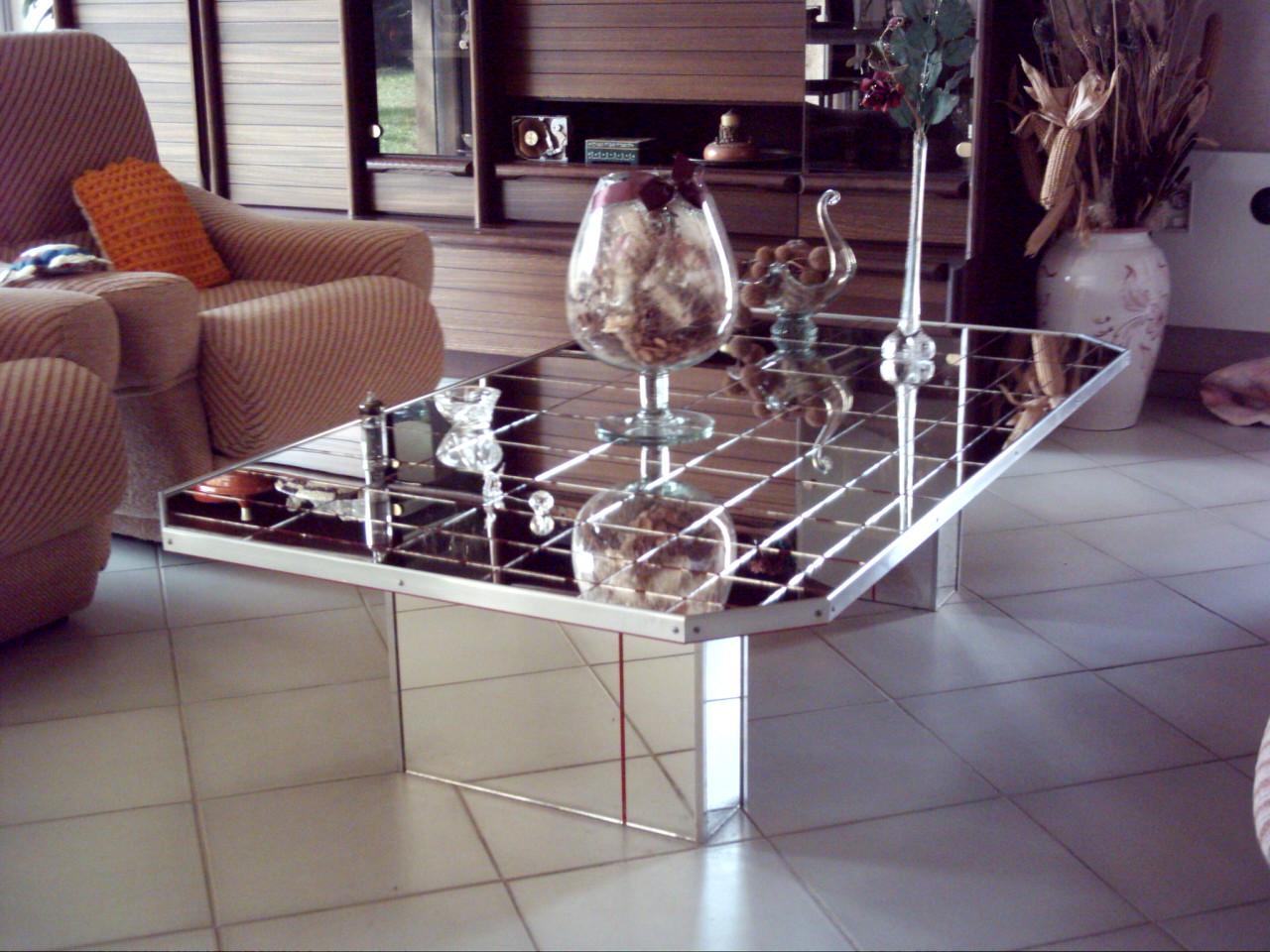 Decorer Une Table Basse En Verre Lille Menage Fr Maison