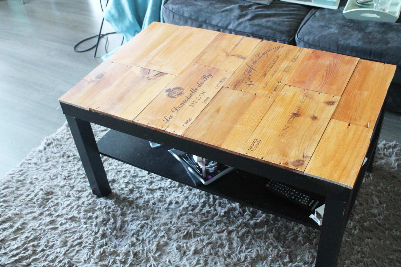 Table basse ikea lack customiser lille maison - Ikea table basse lack ...