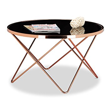 Table basse ronde couleur