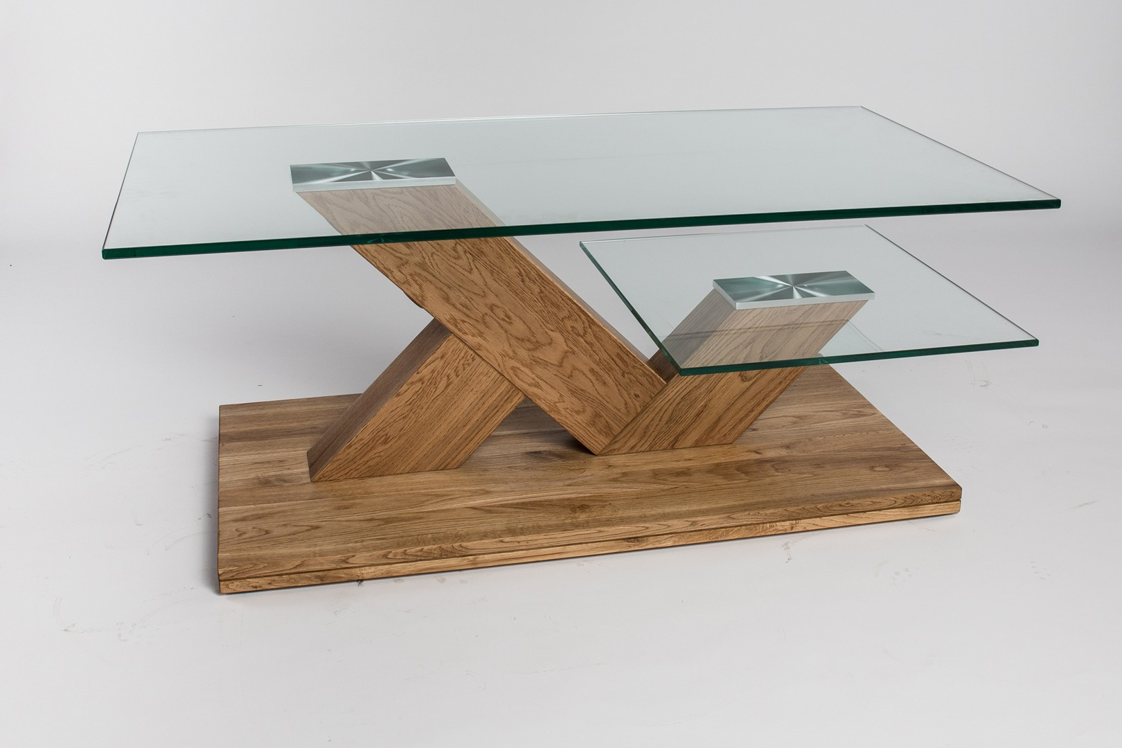 Table Basse Chene Massif Design Lille Menagefr Maison