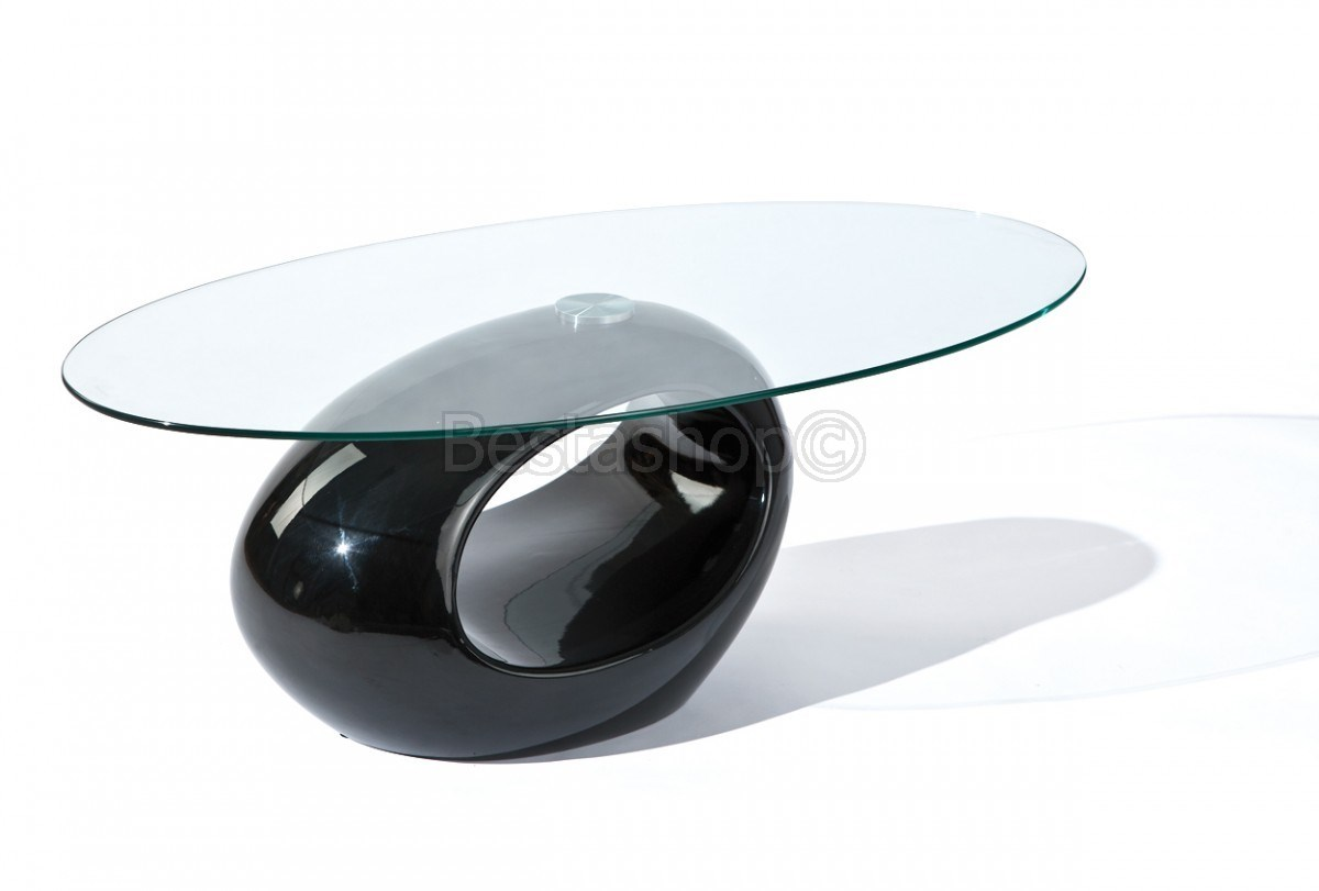 Table basse design ovale pas cher