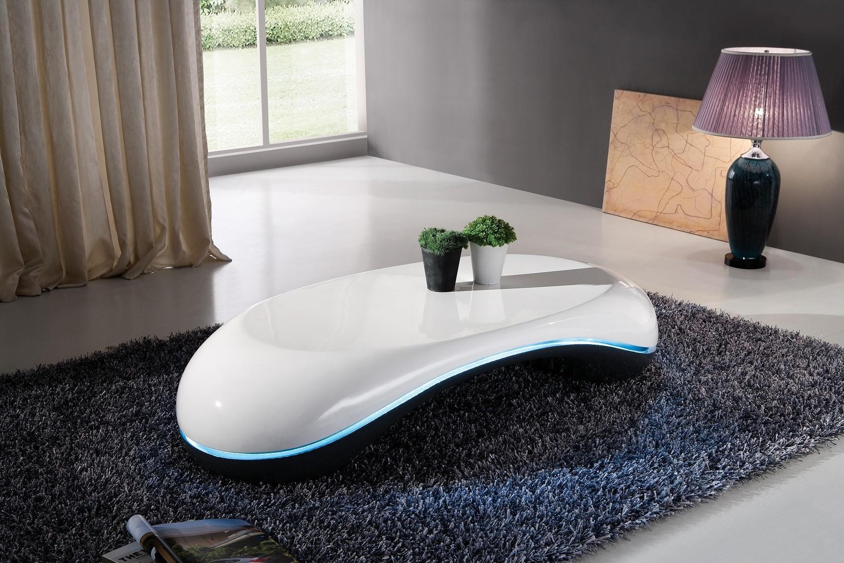 Table basse design noir et blanc - lille-menage.fr maison db2ae8e6878e