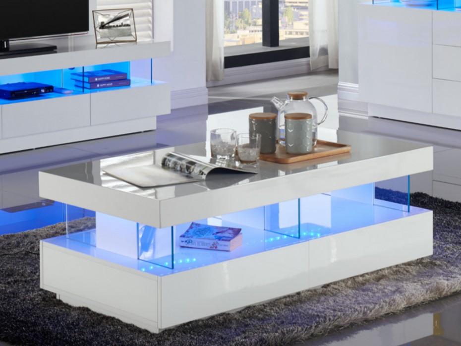 Table basse design nordique