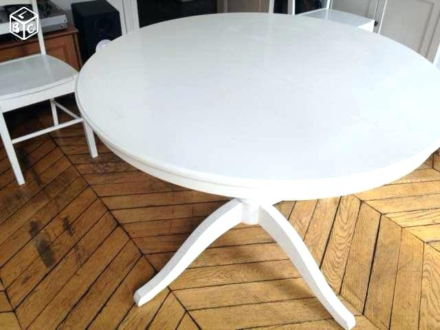 table basse ronde blanche ikea lille maison. Black Bedroom Furniture Sets. Home Design Ideas