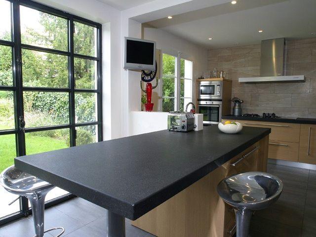 plan de travail ilot granit lille maison. Black Bedroom Furniture Sets. Home Design Ideas