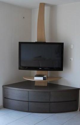 Meuble de tele d'angle design