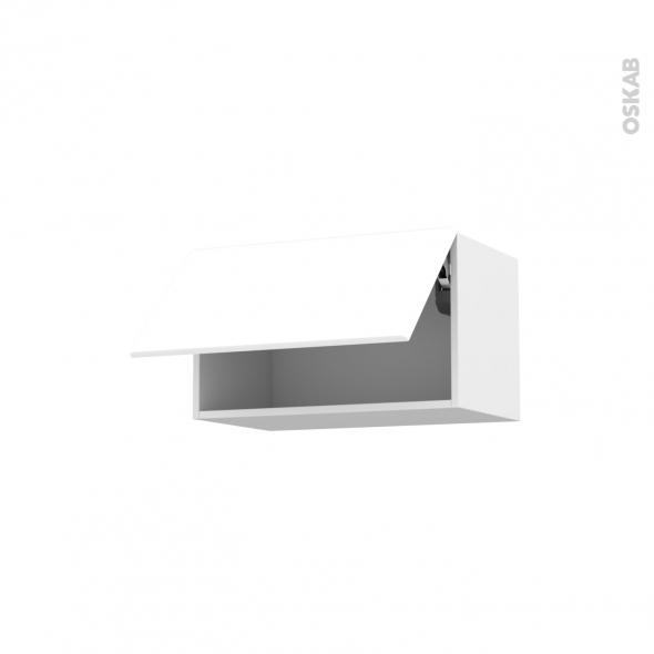 meuble haut blanc laqu cuisine lille maison. Black Bedroom Furniture Sets. Home Design Ideas