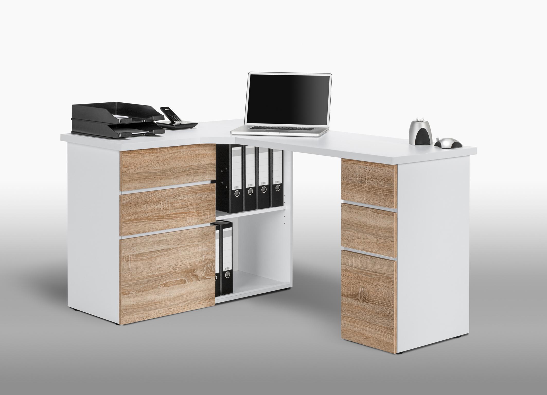 meuble d 39 angle ordinateur ferm lille maison. Black Bedroom Furniture Sets. Home Design Ideas