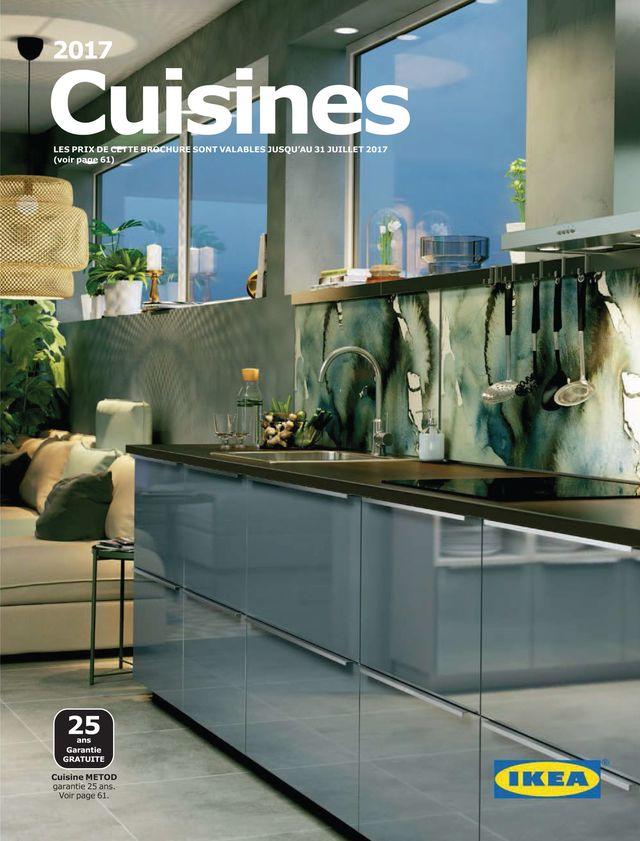 Cuisine Ikea Hyttan Plan De Travail Noir Lille Menage Fr Maison
