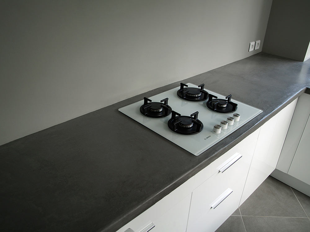 Plan De Travail Gris Anthracite Lille Menage Fr Maison