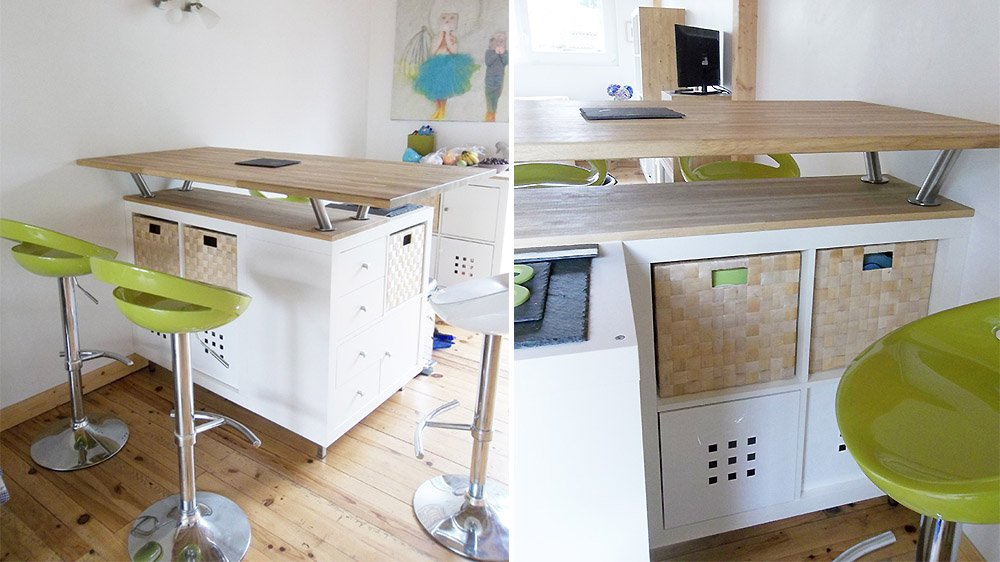 faire une table avec plan de travail ikea lille maison. Black Bedroom Furniture Sets. Home Design Ideas