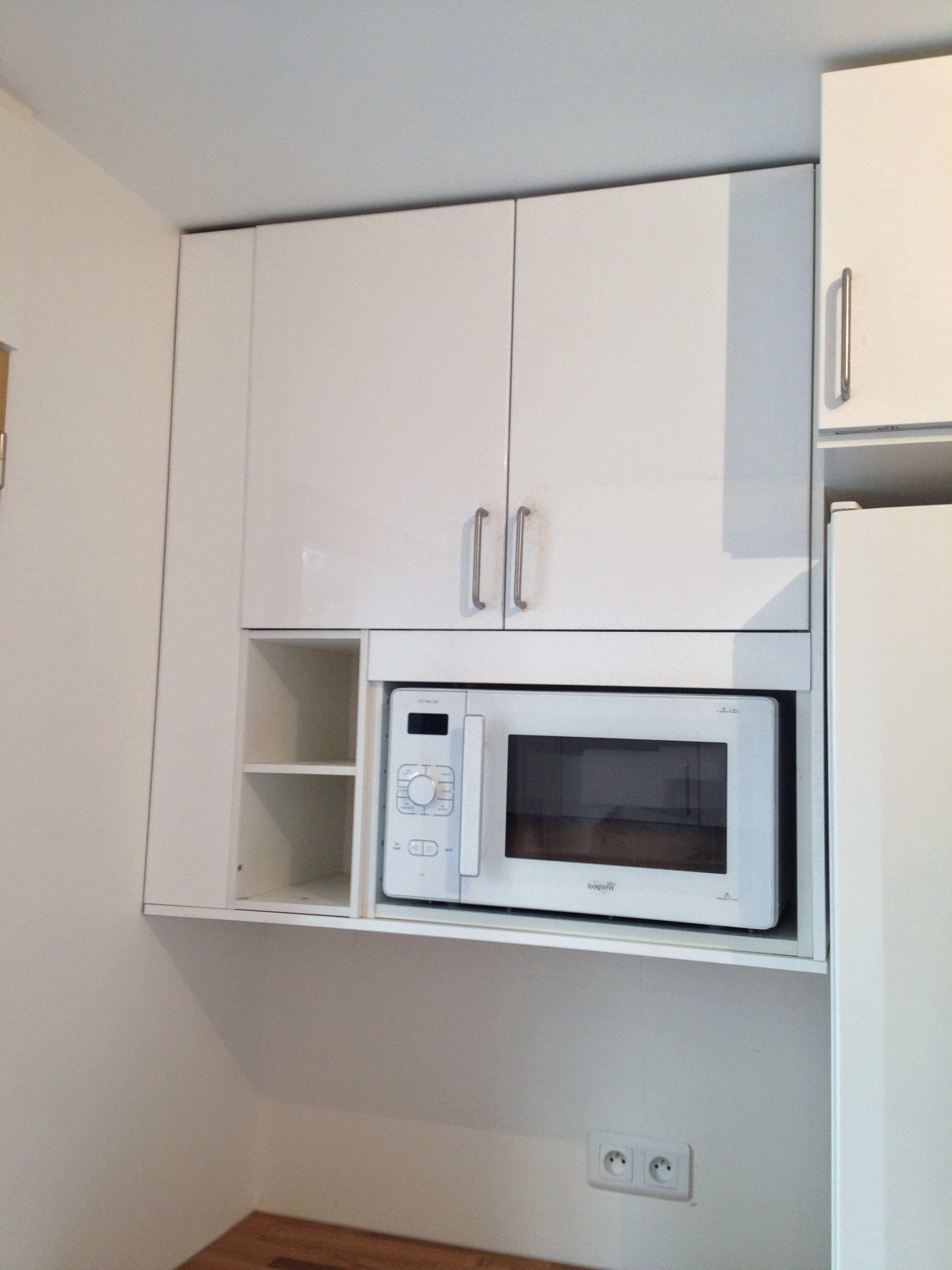 Ikea meuble haut pour micro ondes lille maison - Meuble pour micro onde ikea ...